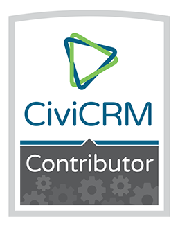 CiviCRM Contributor badge